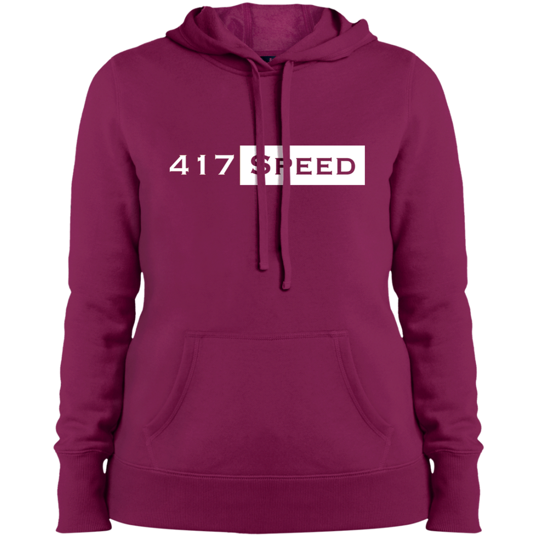 417 Speed Ladies' Pullover Hooded Sweatshirt