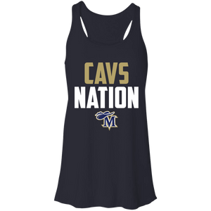 Cavs Nation Flowy Racerback Tank
