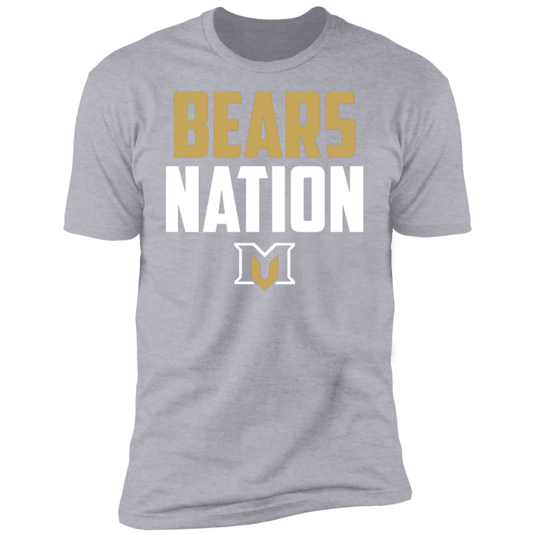 MV Bears Nation Premium Short Sleeve T-Shirt