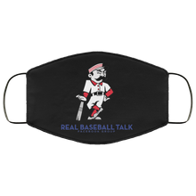 Load image into Gallery viewer, Real Baseball Talk Face Mask