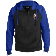 Load image into Gallery viewer, Real Baseball Talk  Men's Sport-Wick® Full-Zip Hooded Jacket (embroidery)