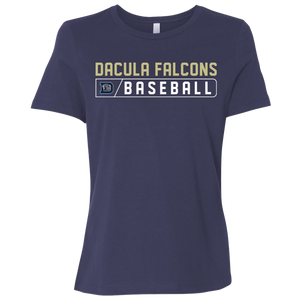 Dacula Falcons Bar Logo Ladies' Relaxed Jersey Short-Sleeve T-Shirt