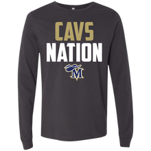 Load image into Gallery viewer, Cavs Nation Men's Jersey LS T-Shirt