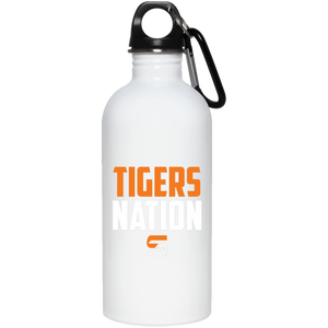 Tigers Nation 20 oz. Stainless Steel Water Bottle