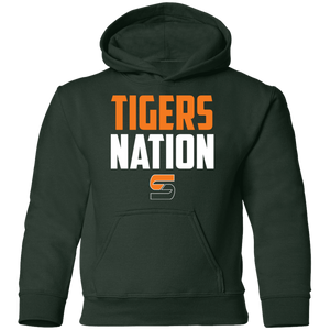Tigers Nation Youth Pullover Hoodie