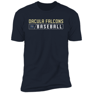 Dacula Falcons Bar Logo Premium Short Sleeve T-Shirt