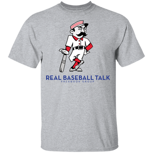 Real Baseball Talk  Youth  100% Cotton T-Shirt