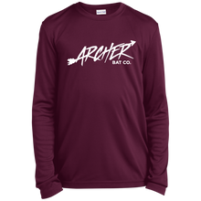 Load image into Gallery viewer, Archer Bat Co Youth Long Sleeve Moisture-Wicking T-Shirt