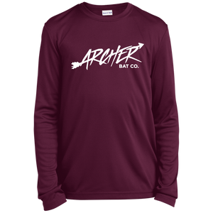 Archer Bat Co Youth Long Sleeve Moisture-Wicking T-Shirt