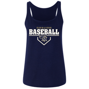 Cavaliers Plate Logo Ladies' Relaxed Jersey Tank