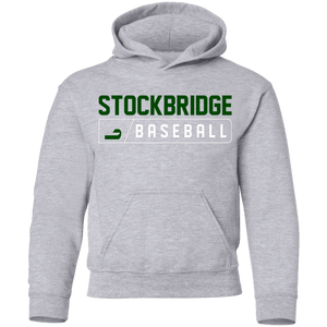 Stockbridge Bar Logo Youth Pullover Hoodie