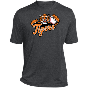 Stockbridge Tigers Heather Dri-Fit Moisture-Wicking T-Shirt