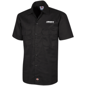 Larsen's Custom Details Men's Short Sleeve Workshirt
