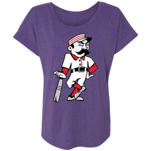 Load image into Gallery viewer, Slugger T Ladies' Triblend Dolman Sleeve