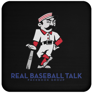 Real Baseball Talk Coaster