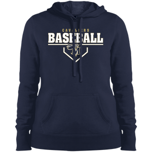 Cavaliers Plate Logo Ladies' Pullover Hooded Sweatshirt