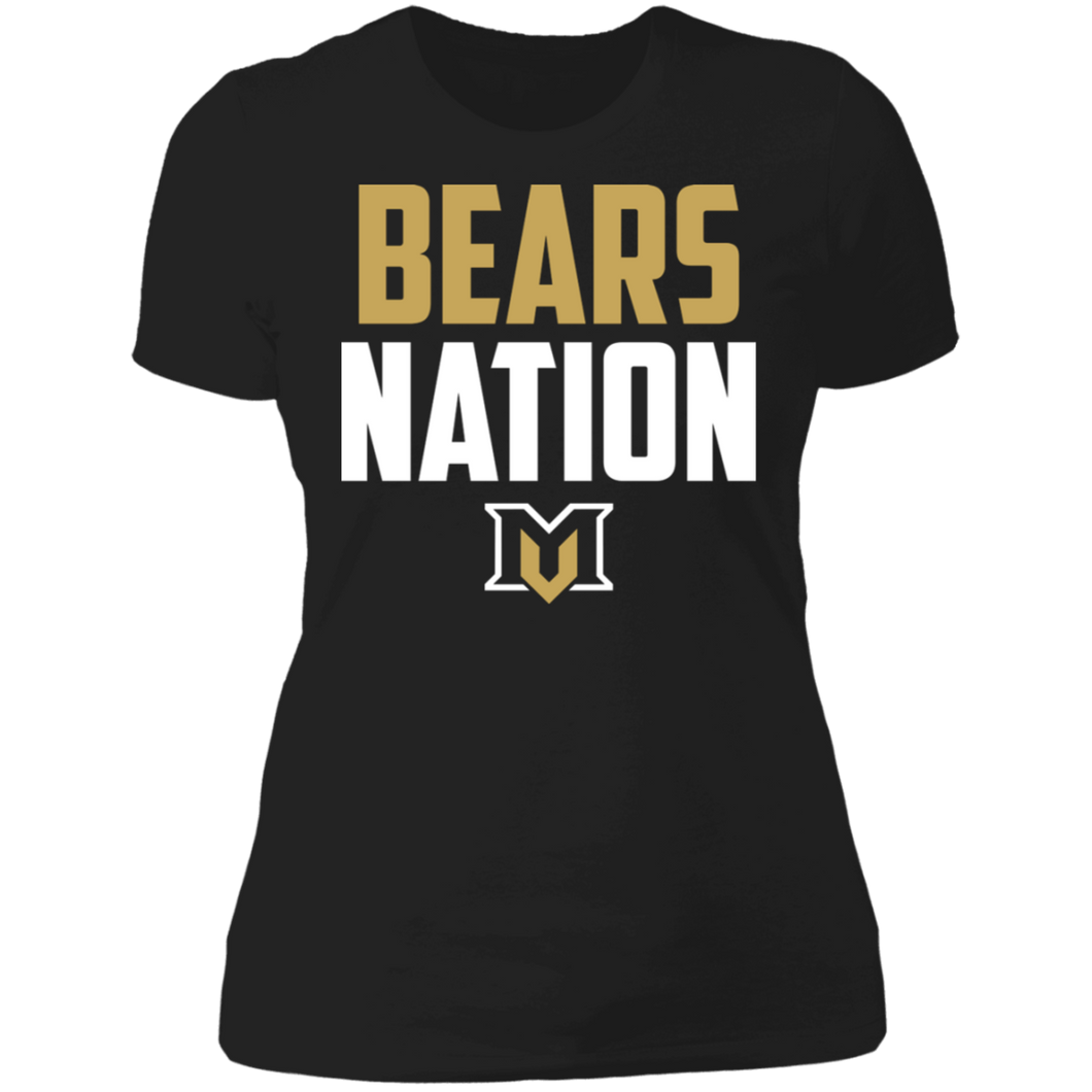 MV Bears Nation Ladies' Boyfriend T-Shirt