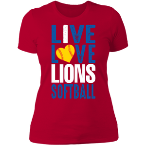 Peachtree Ridge Lions Ladies' Boyfriend T-Shirt