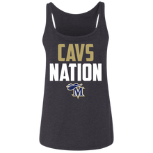 Load image into Gallery viewer, Cavs Nation Ladies' Relaxed Jersey Tank