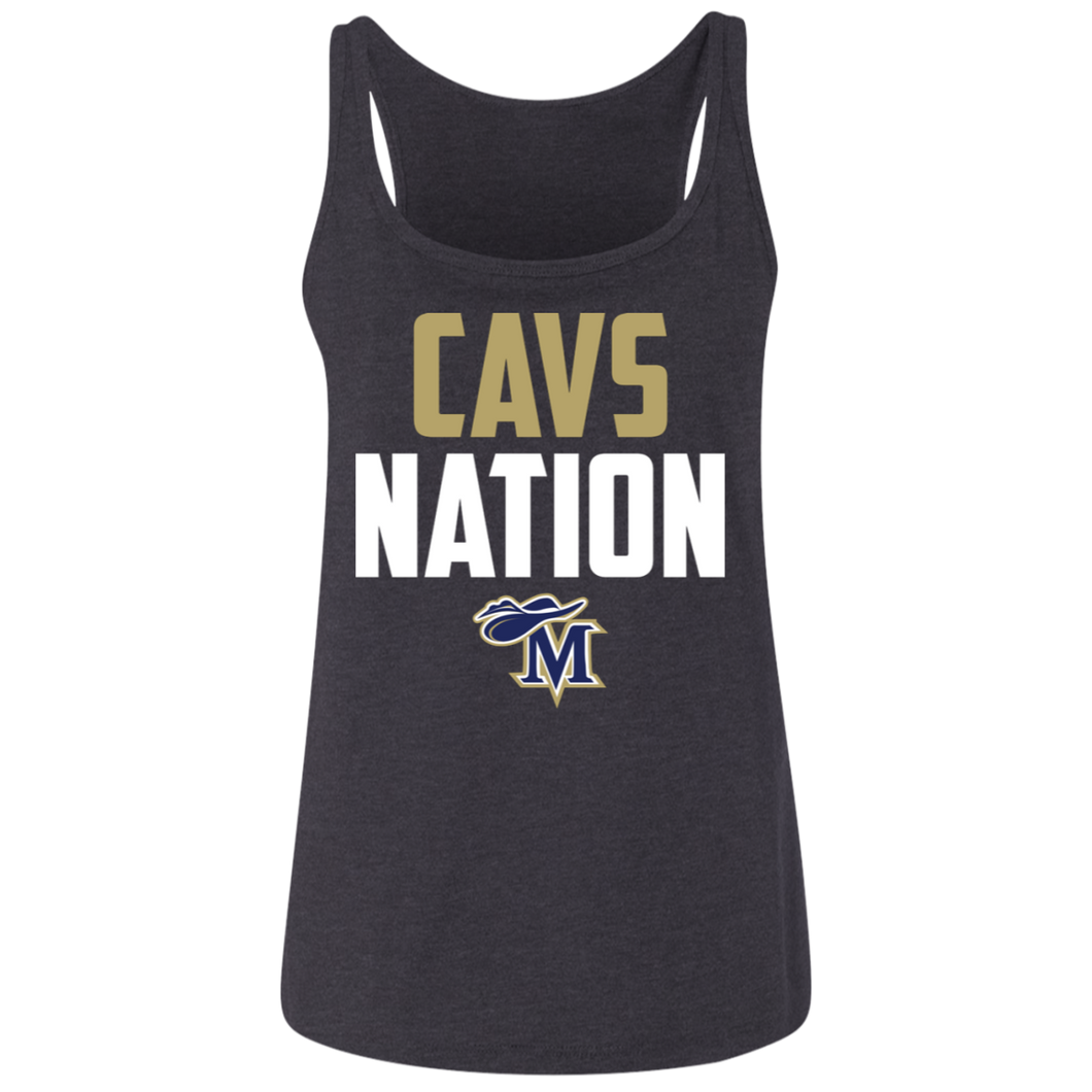 Cavs Nation Ladies' Relaxed Jersey Tank