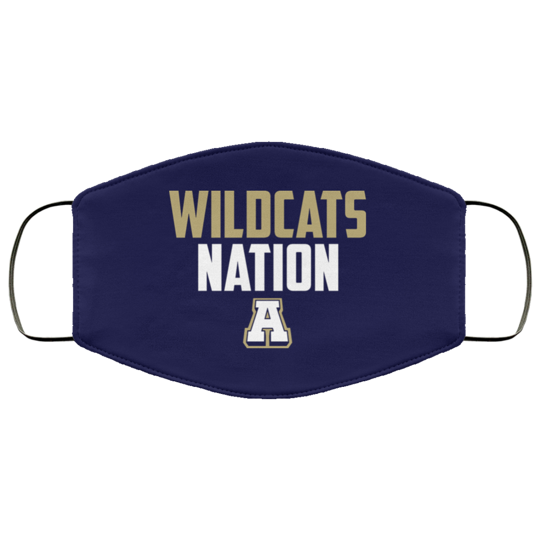 Wildcat Nation Face Mask