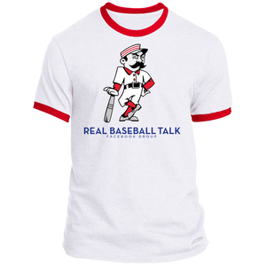 Real Baseball Talk Ringer Tee