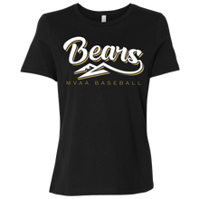 Load image into Gallery viewer, MV Bears Ladies' Relaxed Jersey Short-Sleeve T-Shirt