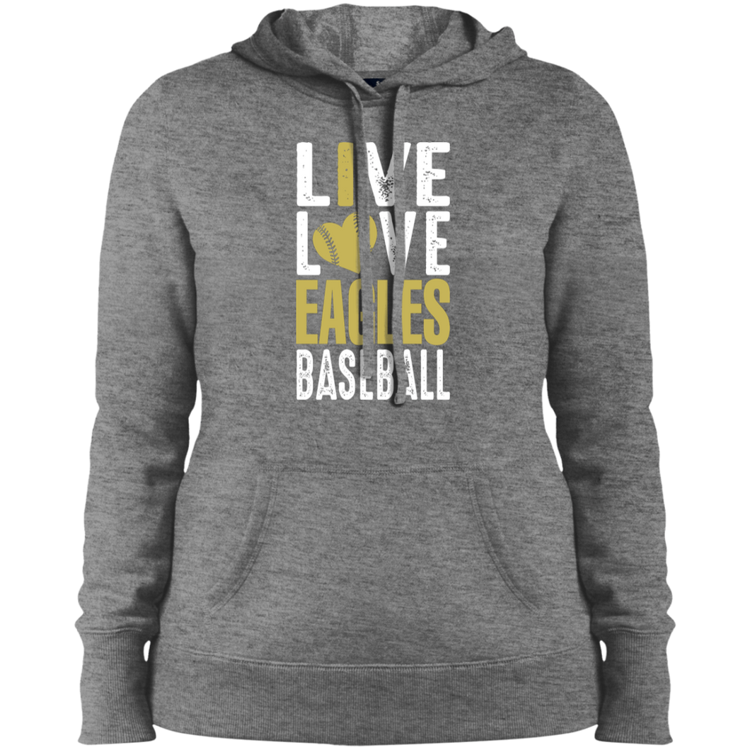 George Jenkins Eagles Ladies' Pullover Hooded Sweatshirt