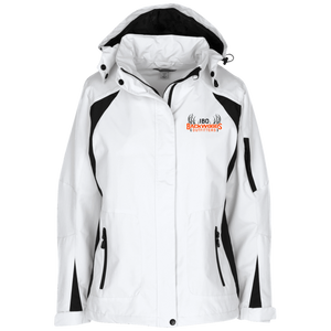 IBO Black/Orange/Gray Ladies' Embroidered Jacket