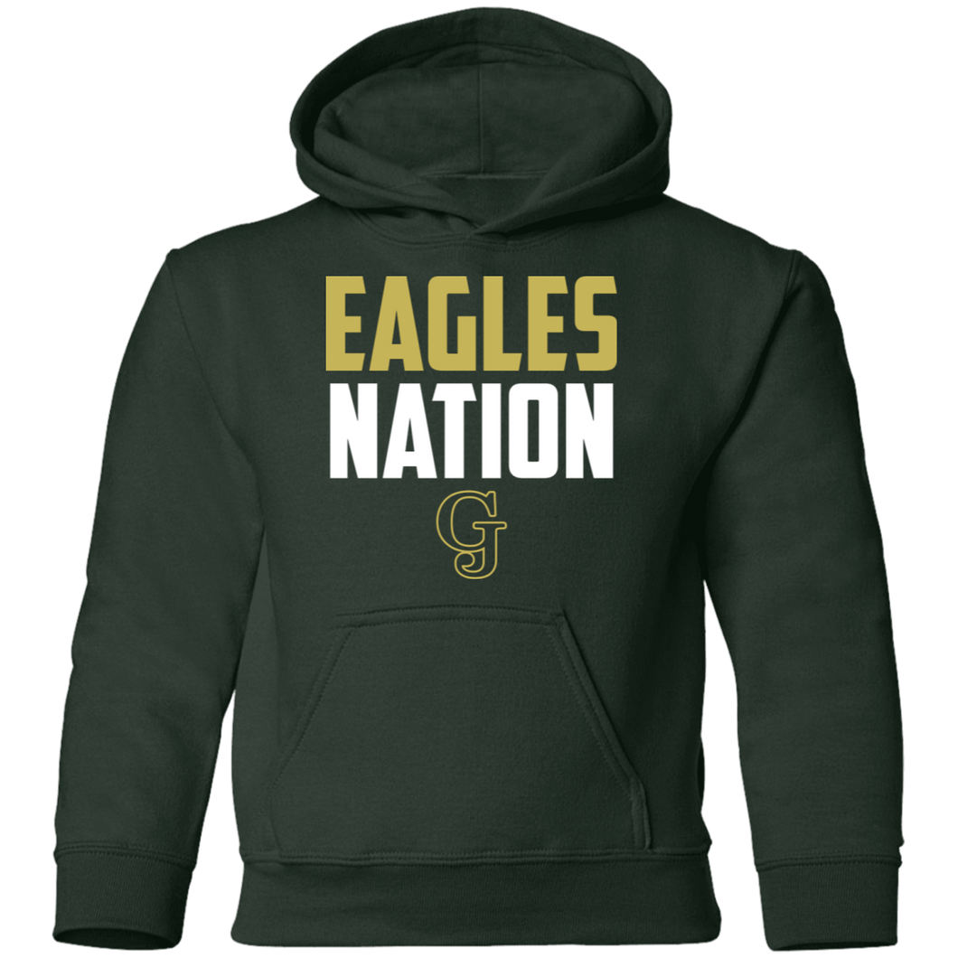Eagles Nation Youth Pullover Hoodie