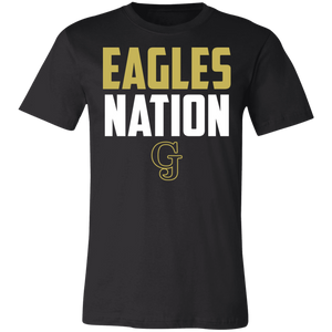 Eagles Nation Unisex Jersey Short-Sleeve T-Shirt