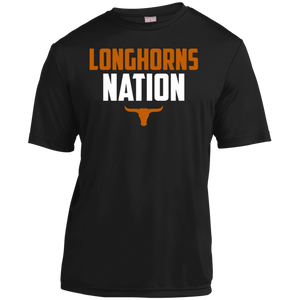 Longhorns Nation Youth Moisture-Wicking T-Shirt