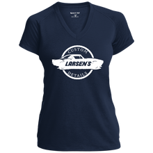 Load image into Gallery viewer, Larsen's Custom Details Ladies' Performance T-Shirt