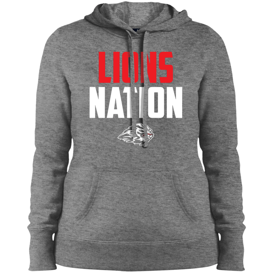 Lions Nation Ladies' Pullover Hooded Sweatshirt