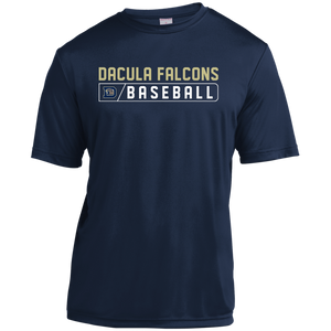 Dacula Falcons Bar Logo Youth Moisture-Wicking T-Shirt