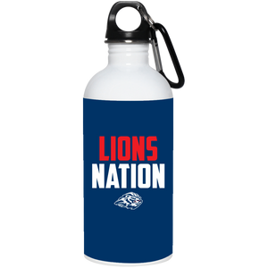 Lions Nation 20 oz. Stainless Steel Water Bottle
