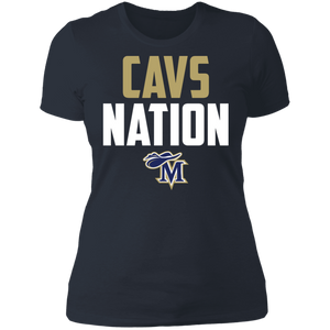 Cavs Nation Ladies' Boyfriend T-Shirt