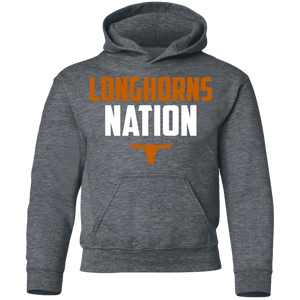 Longhorns Nation Youth Pullover Hoodie