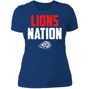 Lions Nation Ladies' Boyfriend T-Shirt