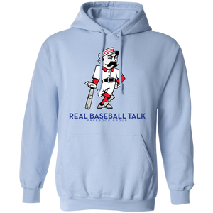 Real Baseball Talk Pullover Hoodie 8 oz.