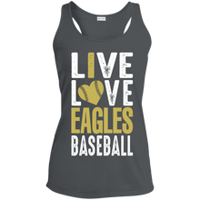 Load image into Gallery viewer, George Jenkins Eagles Ladies' Racerback Moisture Wicking Tank