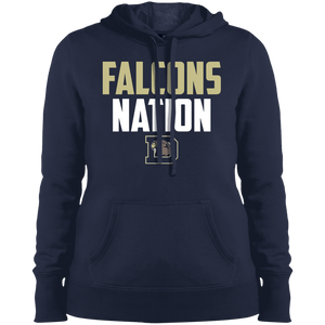 Falcons Nation Ladies' Pullover Hooded Sweatshirt