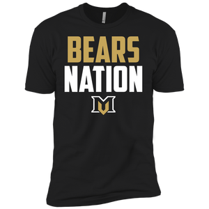 MV Bears Nation Boys' Cotton T-Shirt