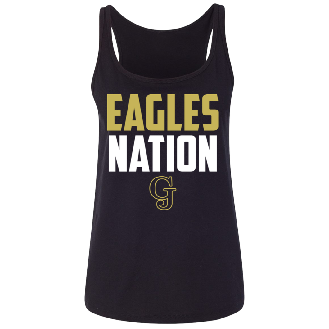 Eagles Nation Ladies' Relaxed Jersey Tank