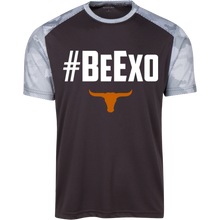 Load image into Gallery viewer, #BeExo Youth CamoHex Colorblock T-Shirt