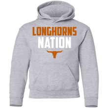 Load image into Gallery viewer, Longhorns Nation Youth Pullover Hoodie