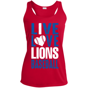 Peachtree Ridge Lions Ladies' Racerback Moisture Wicking Tank
