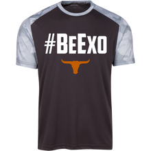 Load image into Gallery viewer, #BeExo CamoHex Colorblock T-Shirt