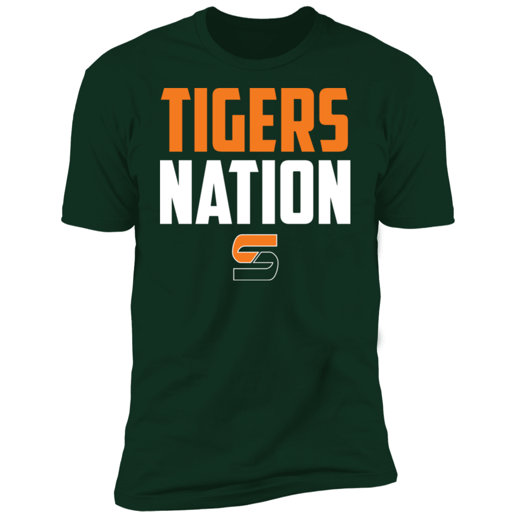 Tigers Nation Premium Short Sleeve T-Shirt