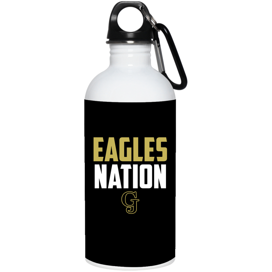Eagles Nation 20 oz. Stainless Steel Water Bottle